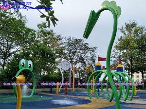 Sân chơi phun nước cho công viên 13