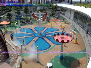 Sân chơi phun nước cho công viên 16