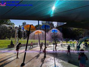 Sân chơi phun nước cho công viên 17