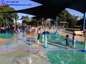 Sân chơi phun nước cho công viên 18