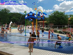 Sân chơi phun nước cho công viên 19