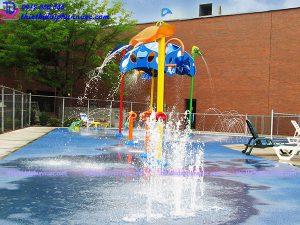 Sân chơi phun nước cho công viên 20