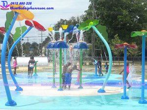 Sân chơi phun nước cho công viên 4