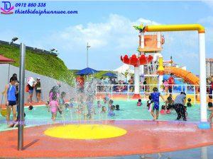 Sân chơi phun nước cho công viên 8