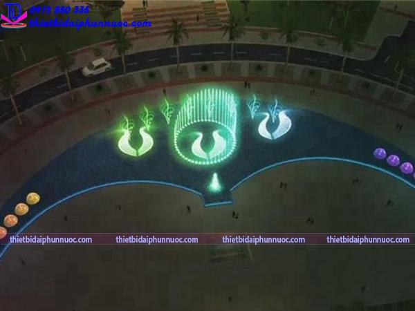 Thiết kế nhạc nước quảng trường 1