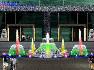 Thiết kế nhạc nước quảng trường 11