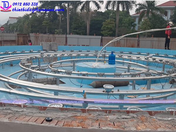 Đài phun nước lập trình PLC 1