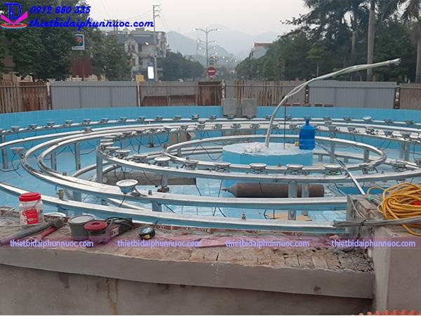 Đài phun nước lập trình PLC 2