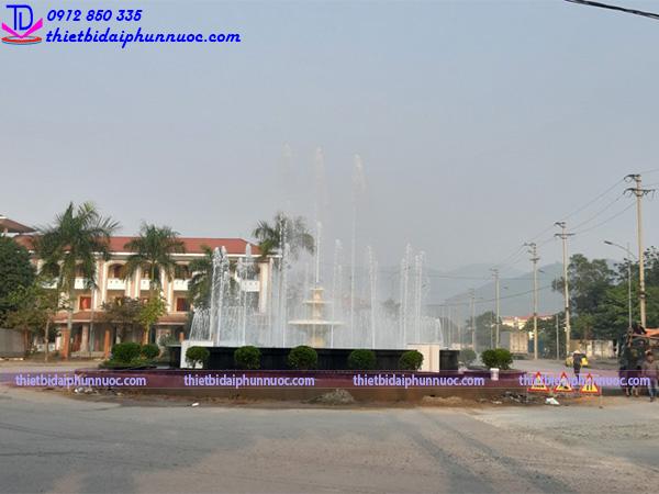 Đài phun nước lập trình PLC 3