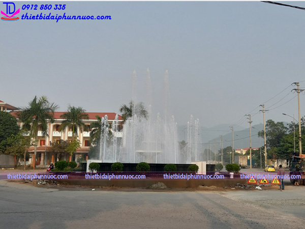 Đài phun nước lập trình PLC 4