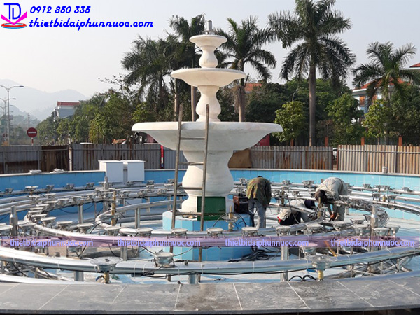 Đài phun nước lập trình PLC 7