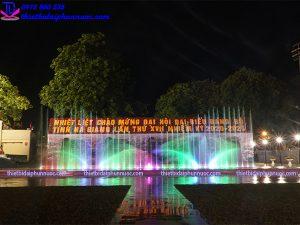 Nhạc nước Hà Giang 14