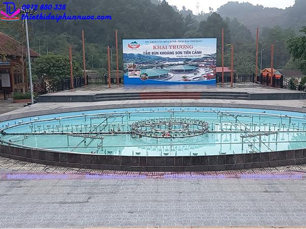Sửa chữa hệ thống nhạc nước khu sinh thái Hải Thượng 3