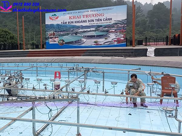 Sửa chữa hệ thống nhạc nước khu sinh thái Hải Thượng 7