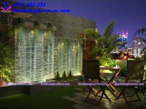 Đèn chiếu sáng tiểu cảnh -rọi thác nước- hồ nước-tường nước 6