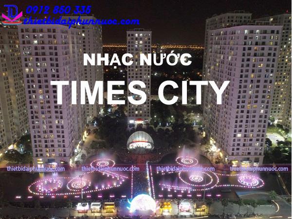 Nhạc nước time city 2021 mấy giờ? 1