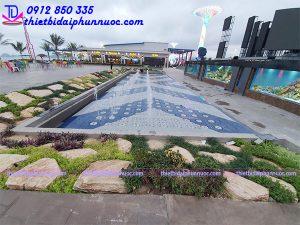 Quảng trường nhạc nước bãi biển khu đô thị Phương Đông 10