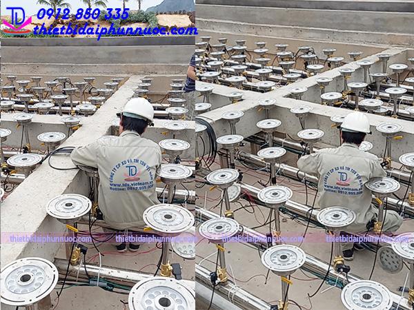 Quảng trường nhạc nước bãi biển khu đô thị Phương Đông 12