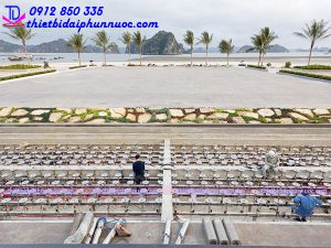 Quảng trường nhạc nước bãi biển khu đô thị Phương Đông 2